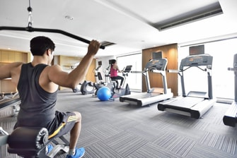 Fitness Center at Agra hotel