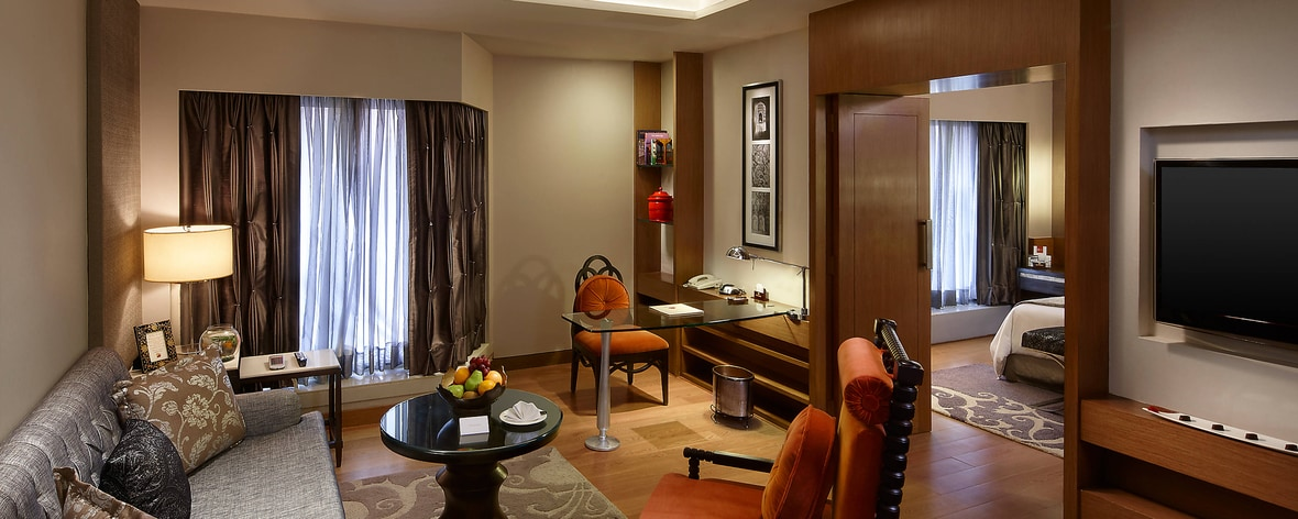 Royal Mughal Suite - Living Area