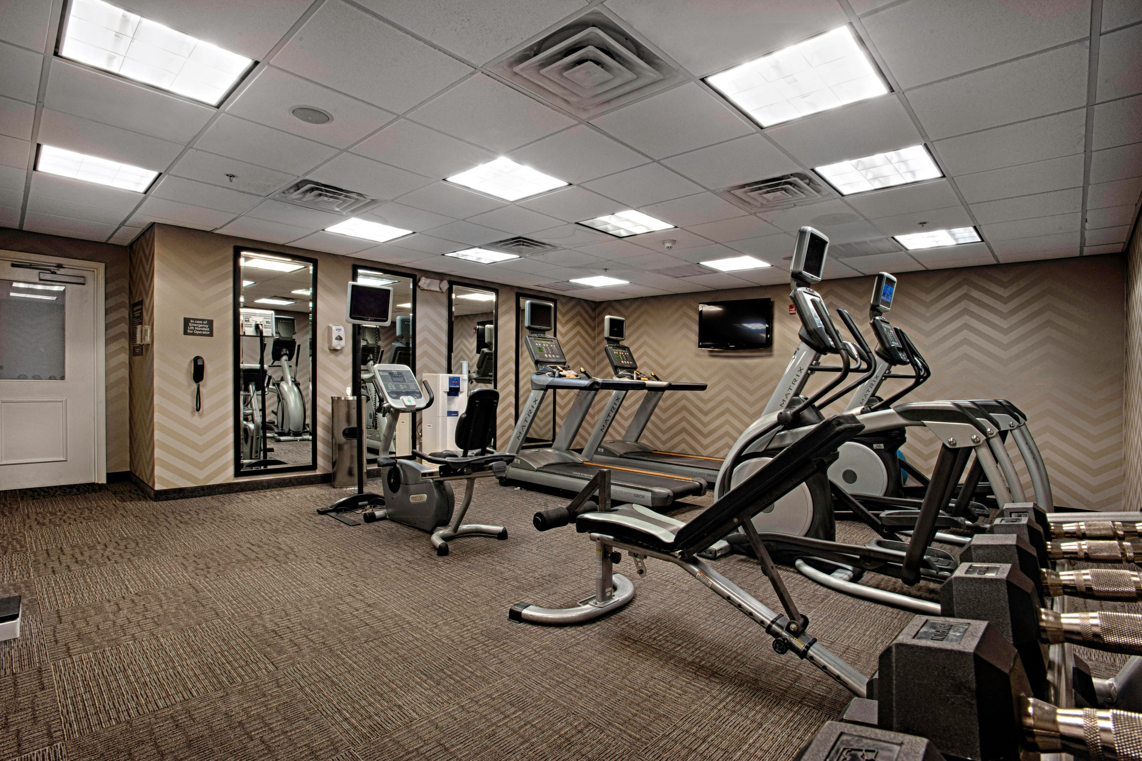 Egg Harbor New Jersey Hotel Fitness Center