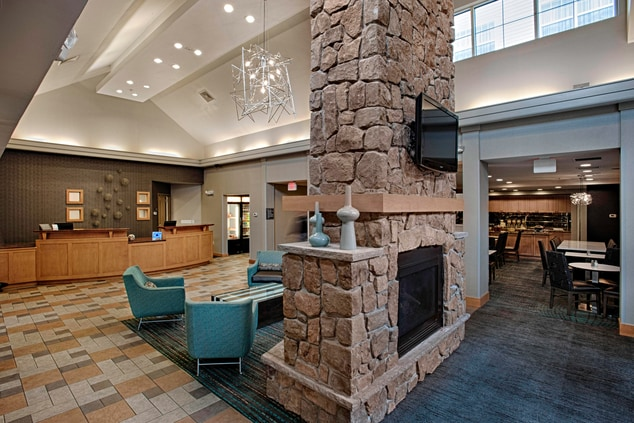 Egg Harbor New Jersey Hotel Seating Area