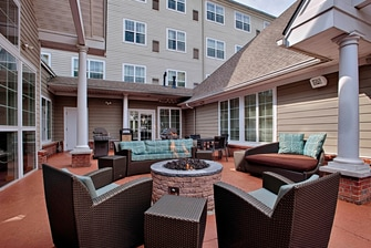 Atlantic City New Jersey Hotel Outdoor Patio