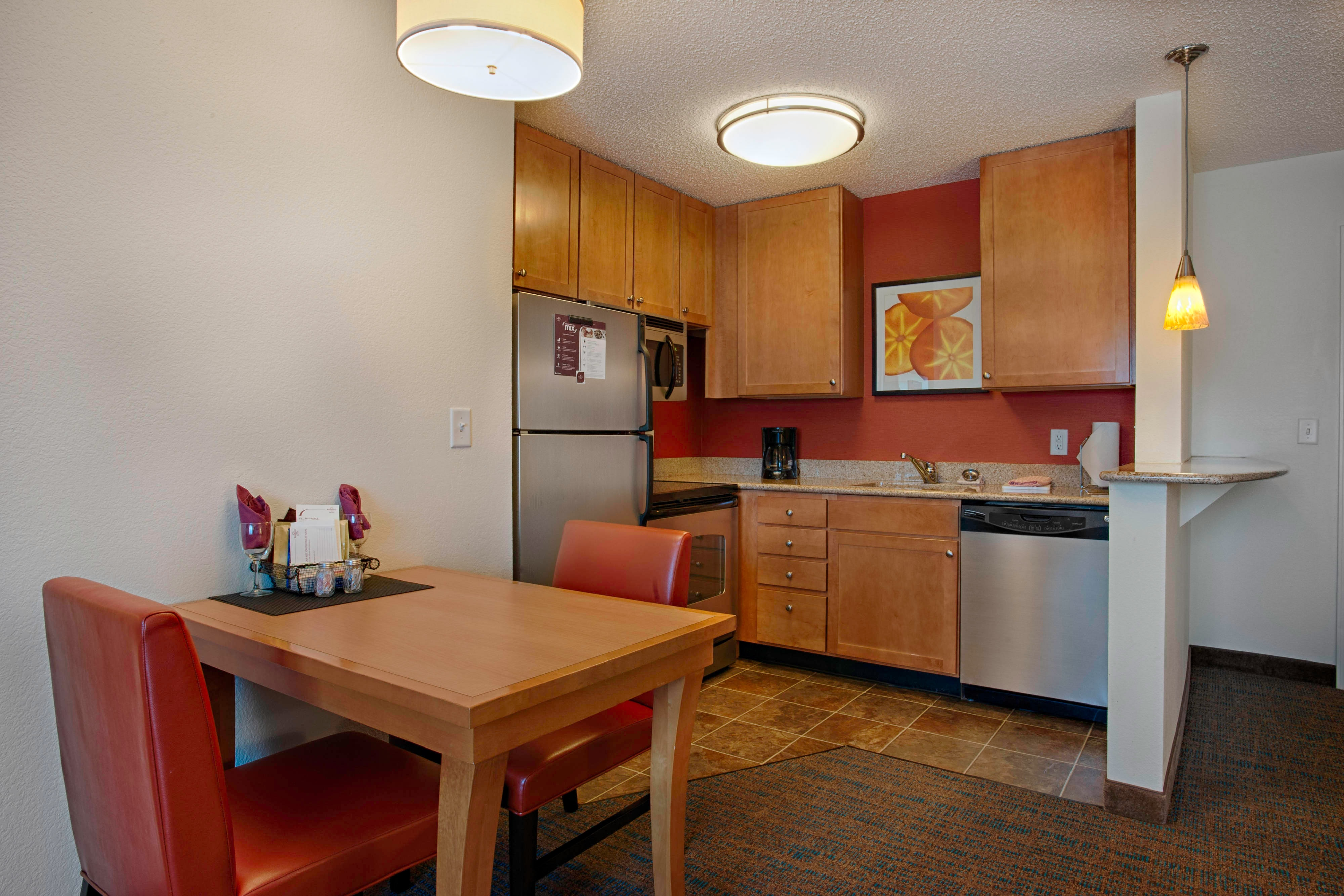 Egg Harbor New Jersey Hotel Suite Kitchen