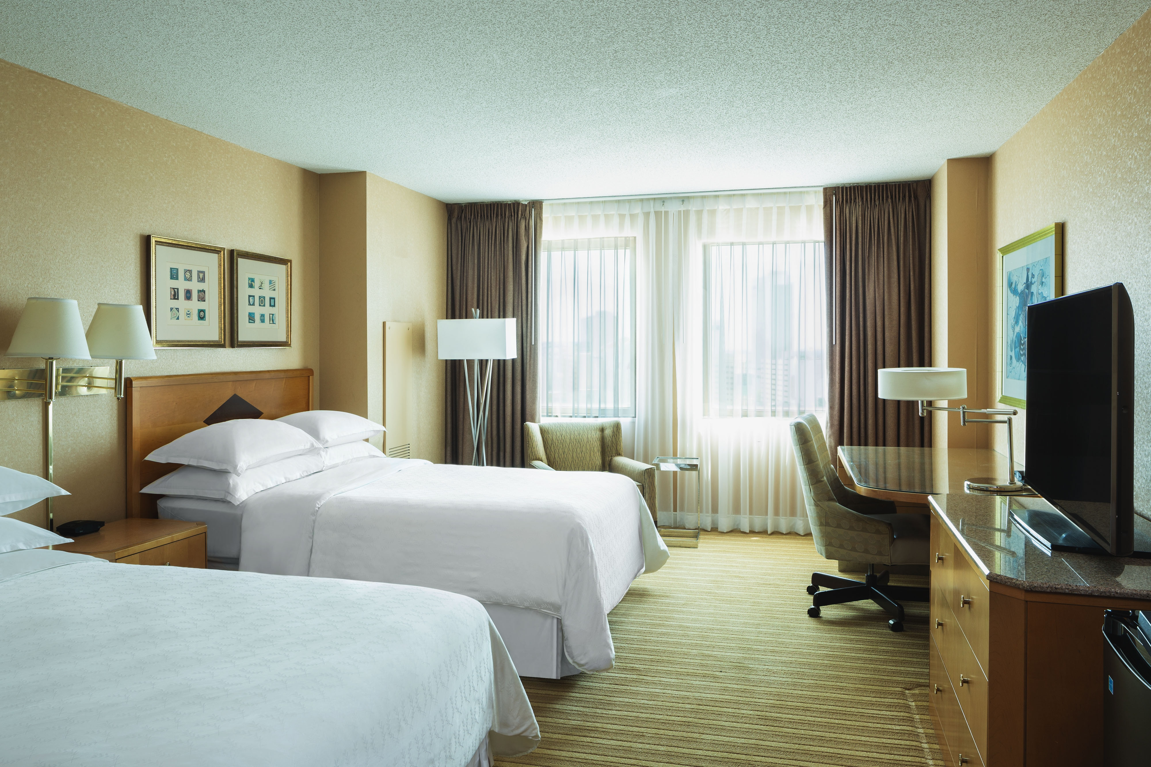 Atlantic City New Jersey Accommodations Double Guest Room
