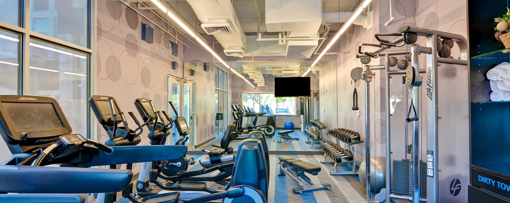 Hotel Gym and Fitness Facilities at Aloft Hotels