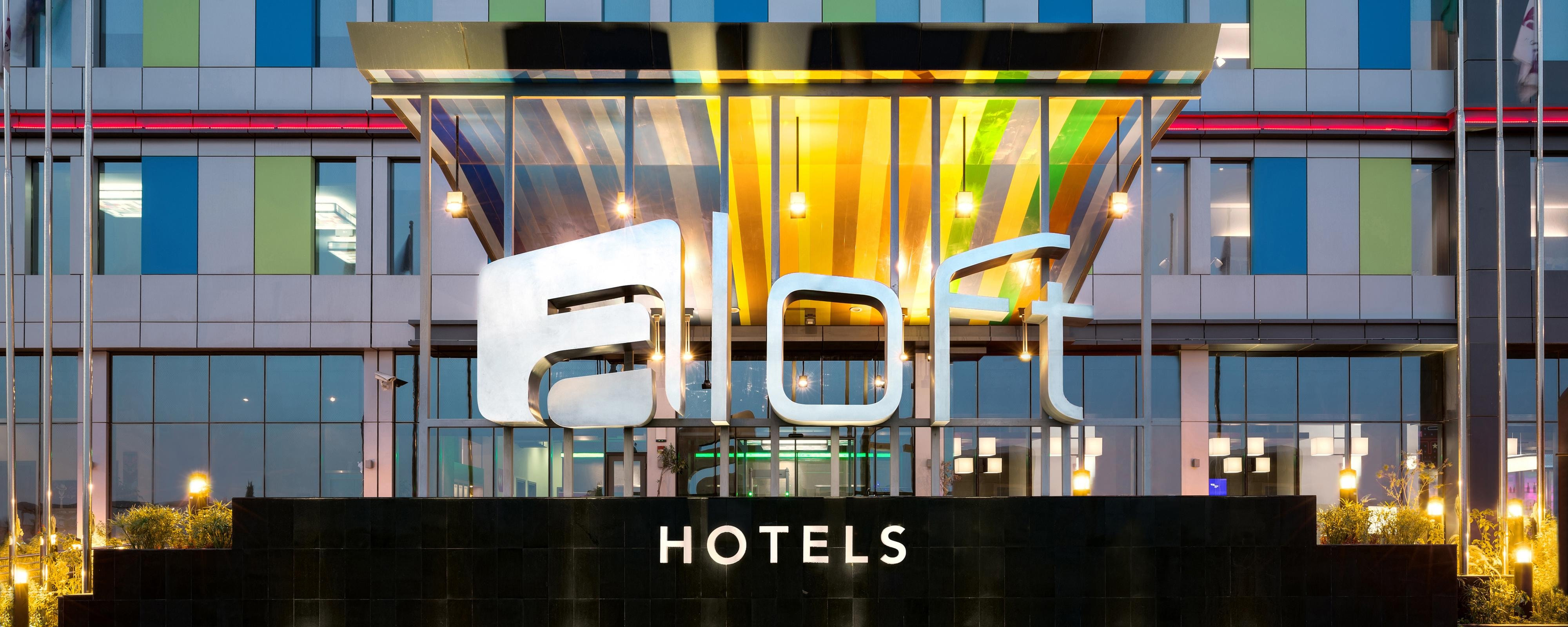 Aloft Hotel photography