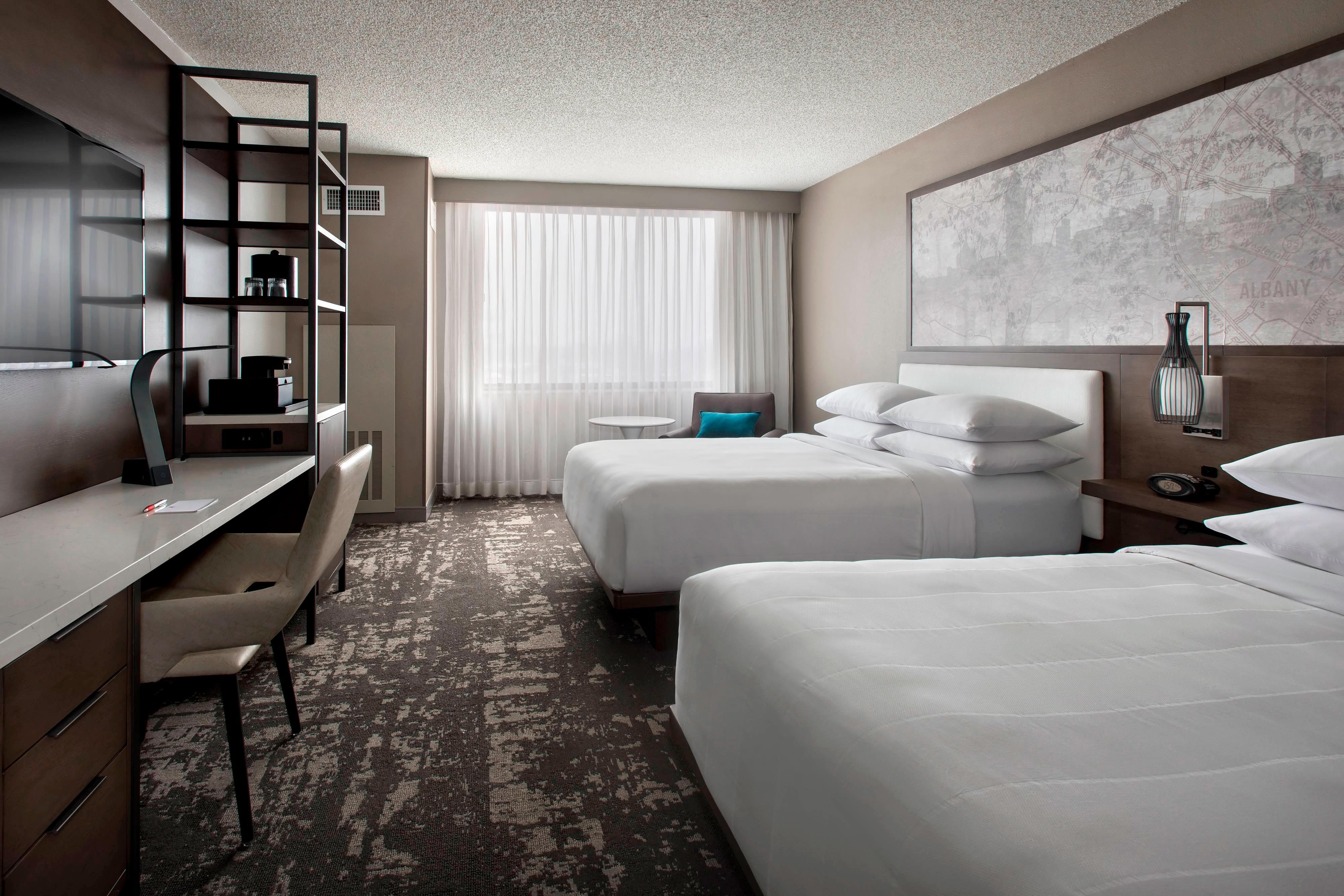 Queen/Queen Concierge Guest Room