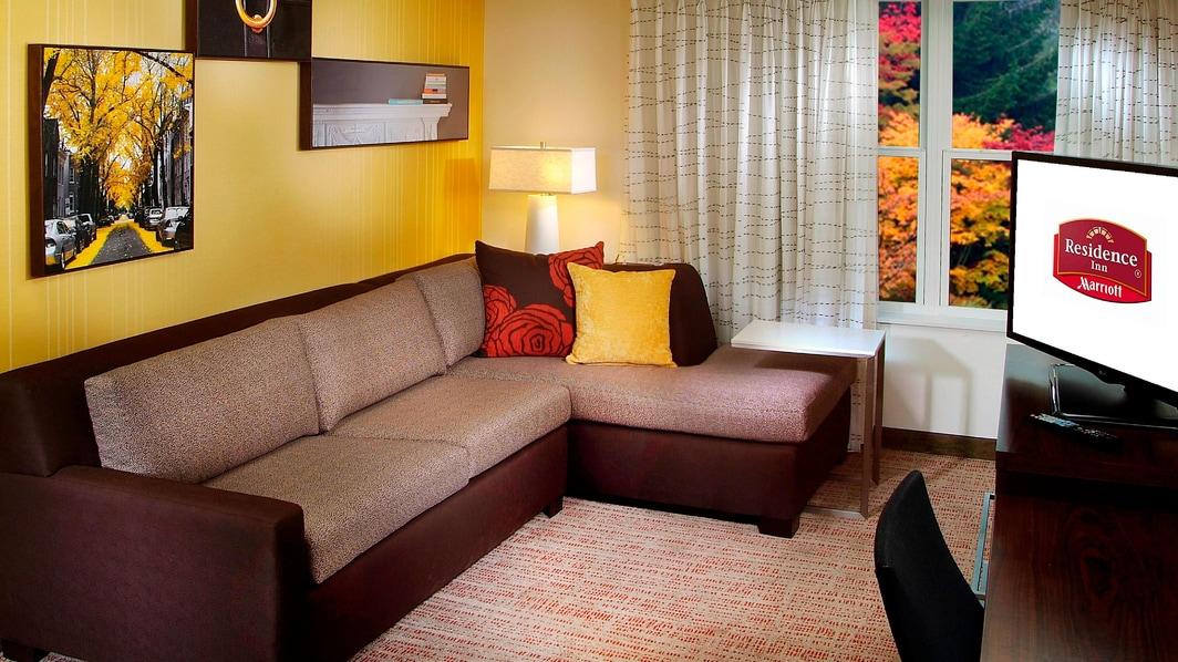 Suite mit zwei Schlafzimmern im Residence Inn Albany