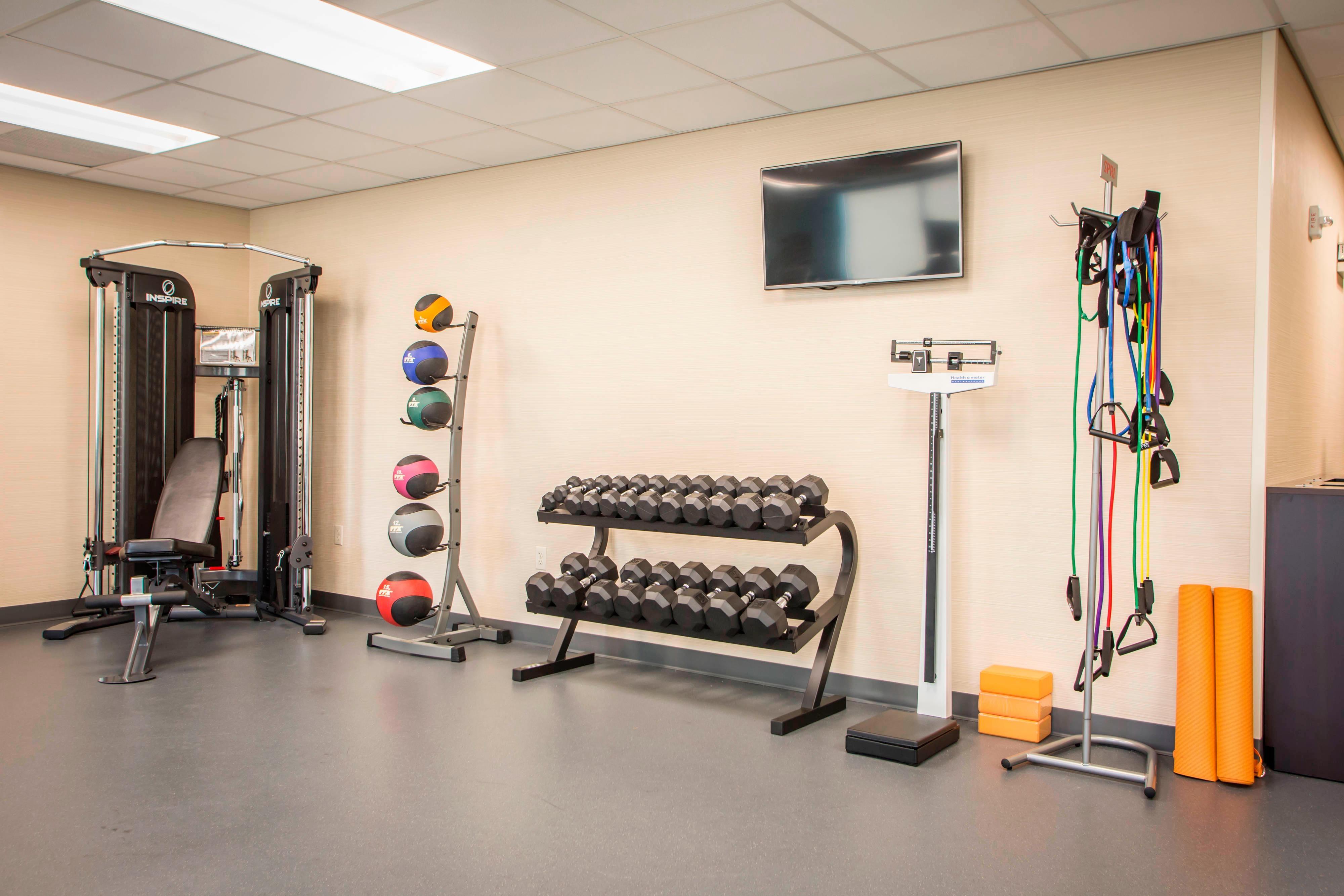 Fairfield Inn & Suites Fitness Center