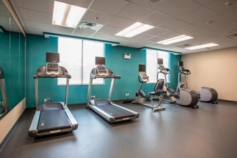 Fairfield Inn & Suites Fitness Center Cardio Equipment