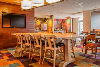 Fairfield Inn & Suites Communal Table