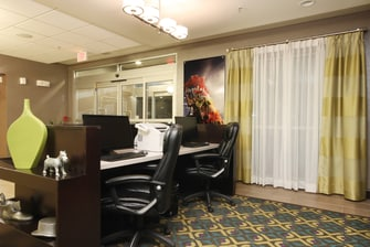 Amarillo TX Hotel Business Center