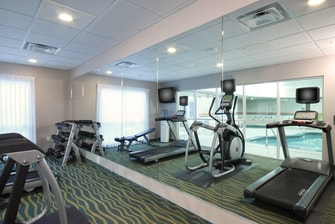 Amarillo TX Hotel Fitness Center