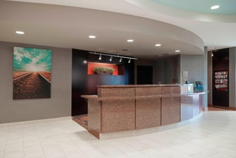 Amarillo Texas Hotel Front Desk