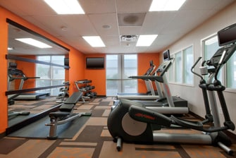 Amarillo Texas Hotel Fitness Center