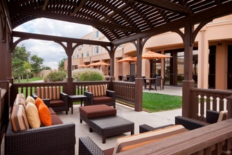 Amarillo Texas Hotel Courtyard Gazebo