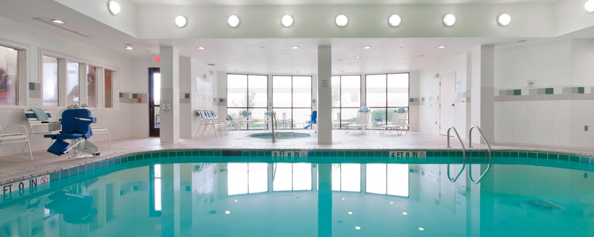 Amarillo Texas Hotel Indoor Pool