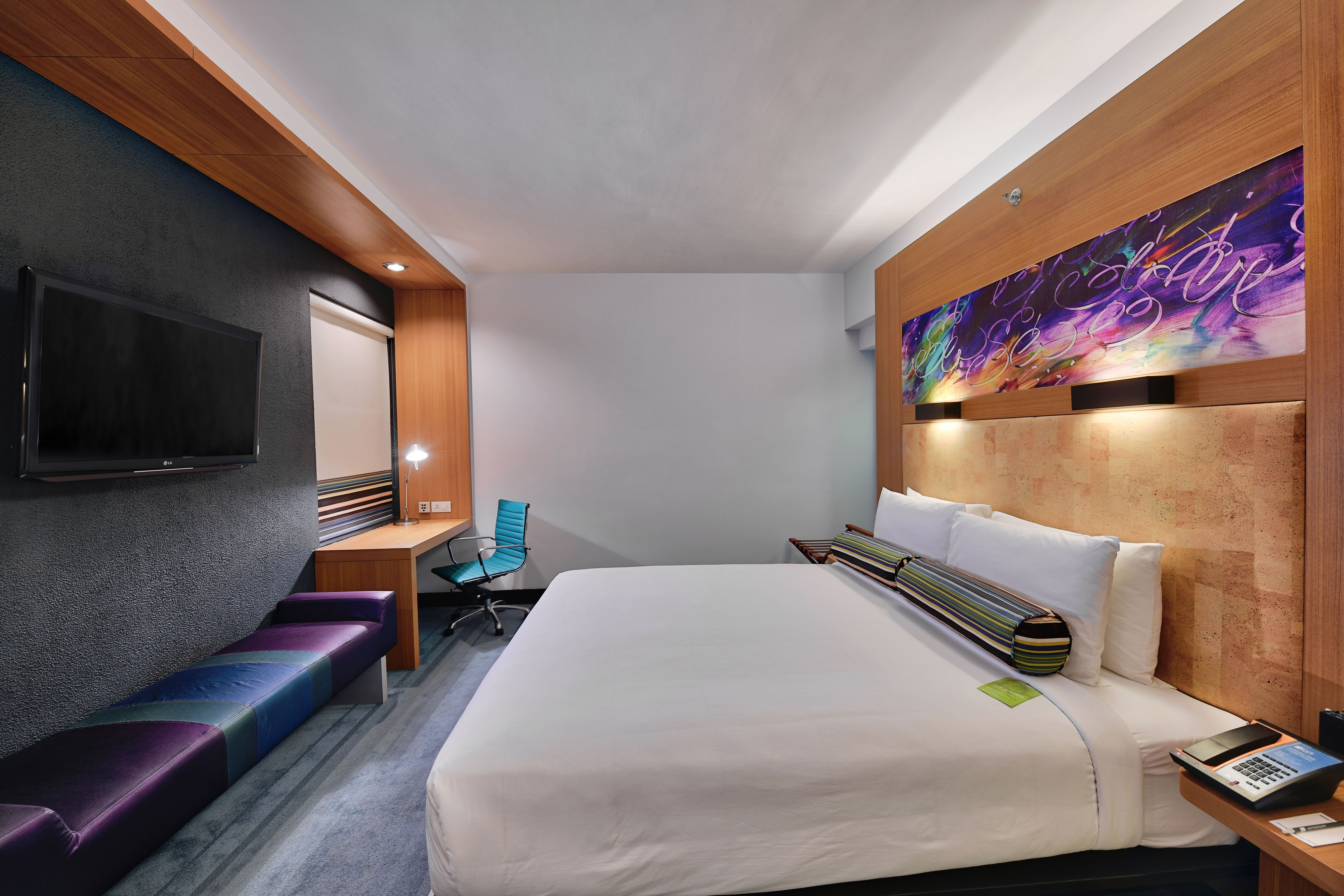 Aloft com cama king-size