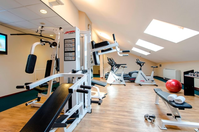 Fitness and sauna Schiphol hotel