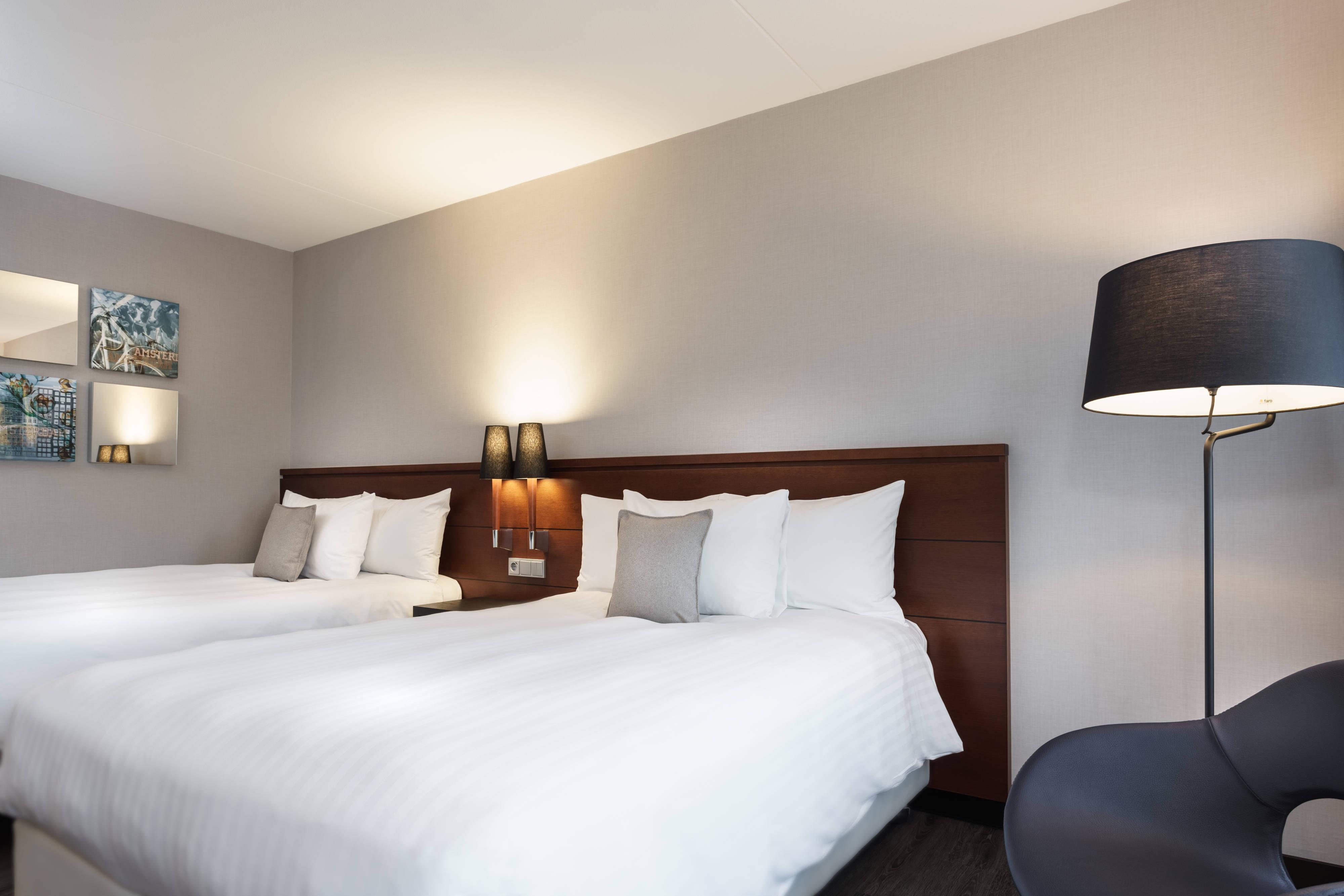Chambre Deluxe avec deux lits queen size