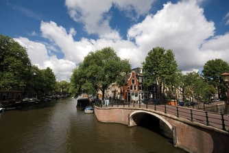 Amsterdam city centre canals