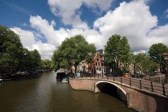 Canaux du centre-ville d'Amsterdam