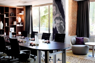 Boardroom at Amsterdam Business Hotel