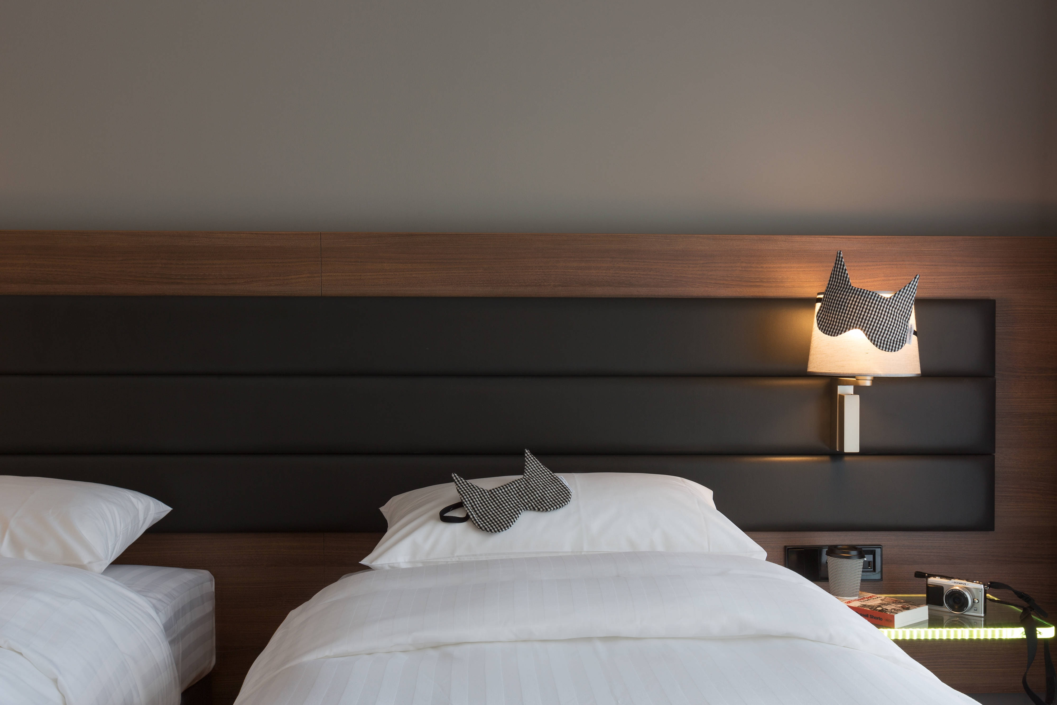 Chambre Moxy Lookout avec lits simples