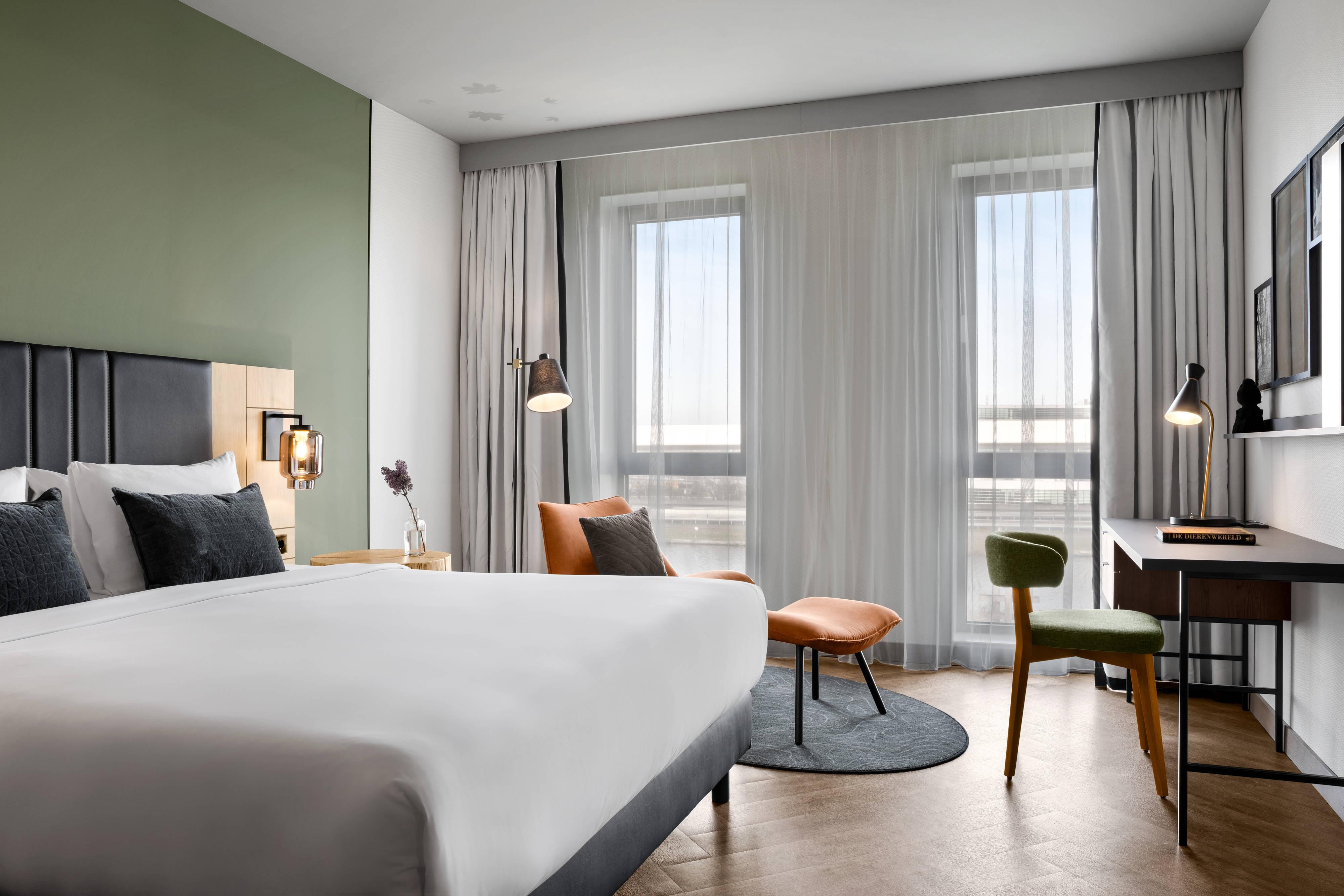 Chambre supérieure avec lit king-size