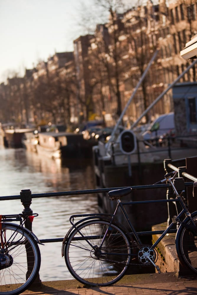 Cycle city Amsterdam