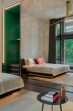 Spectacular Bank Room Bed