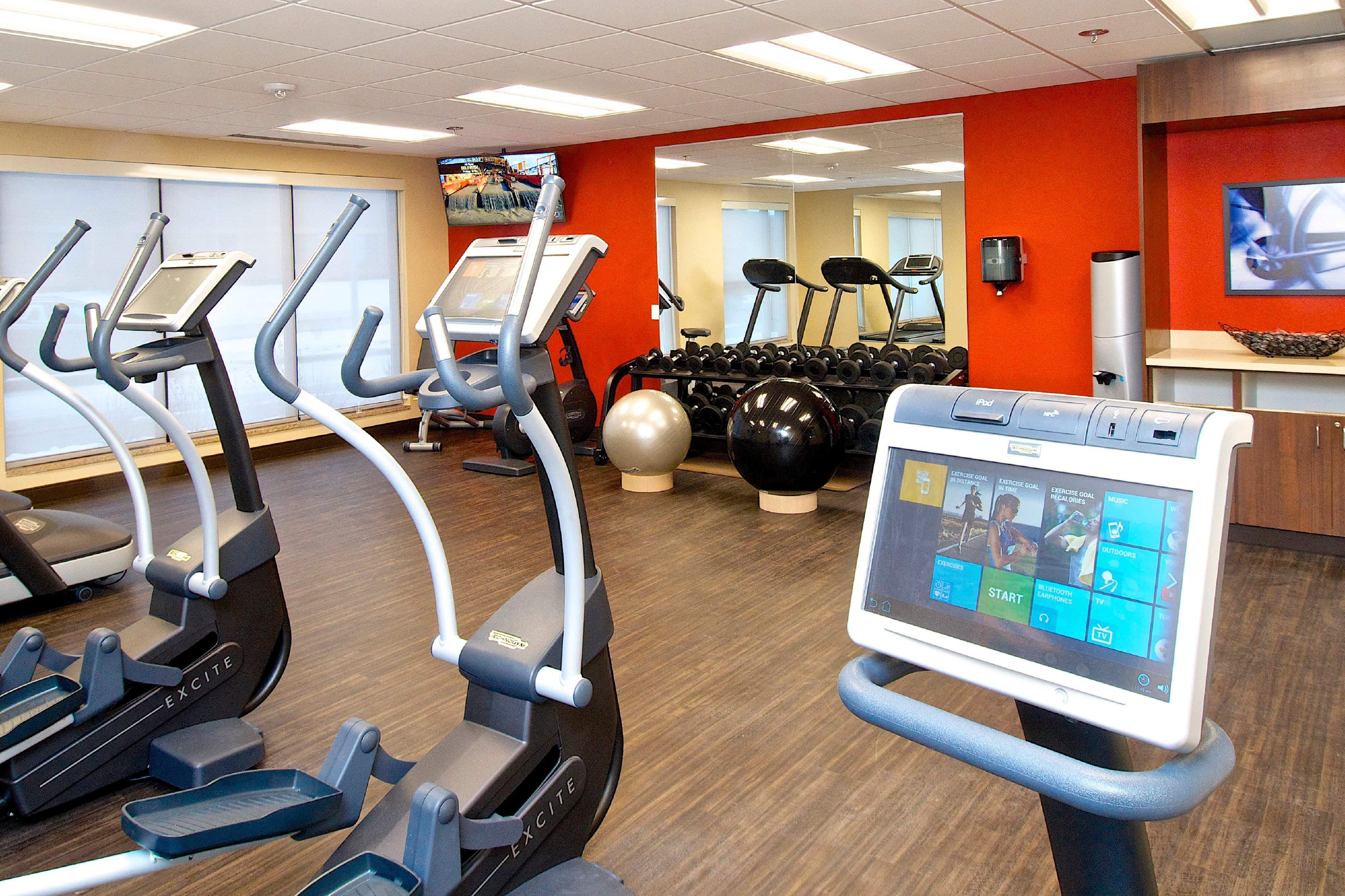 TownePlace Suites Anchorage Hotel Gym