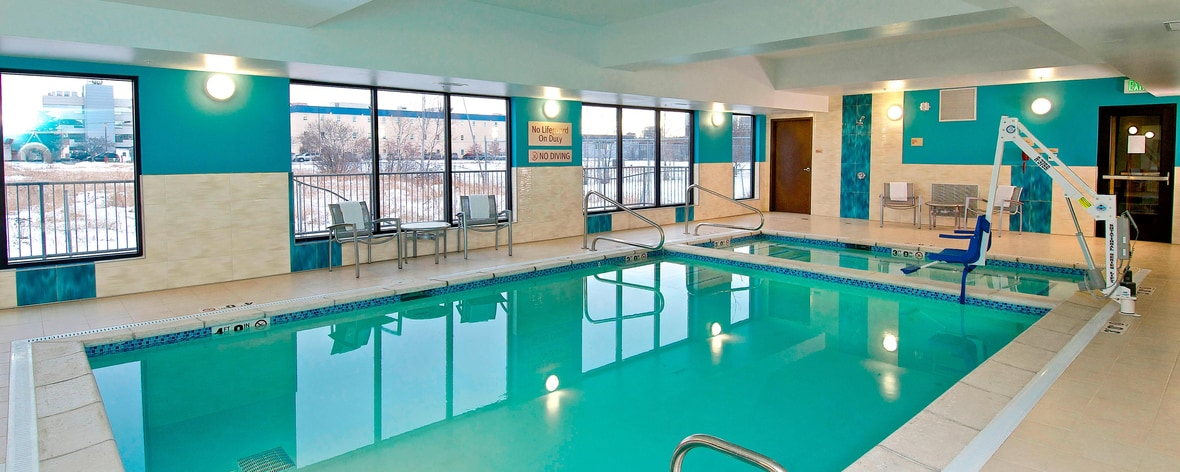 TownePlace Anchorage Hotel Indoor Pool