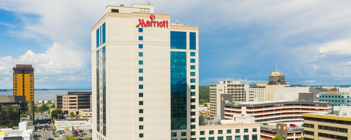 Downtown Anchorage Alaska Hotels Anchorage Marriott