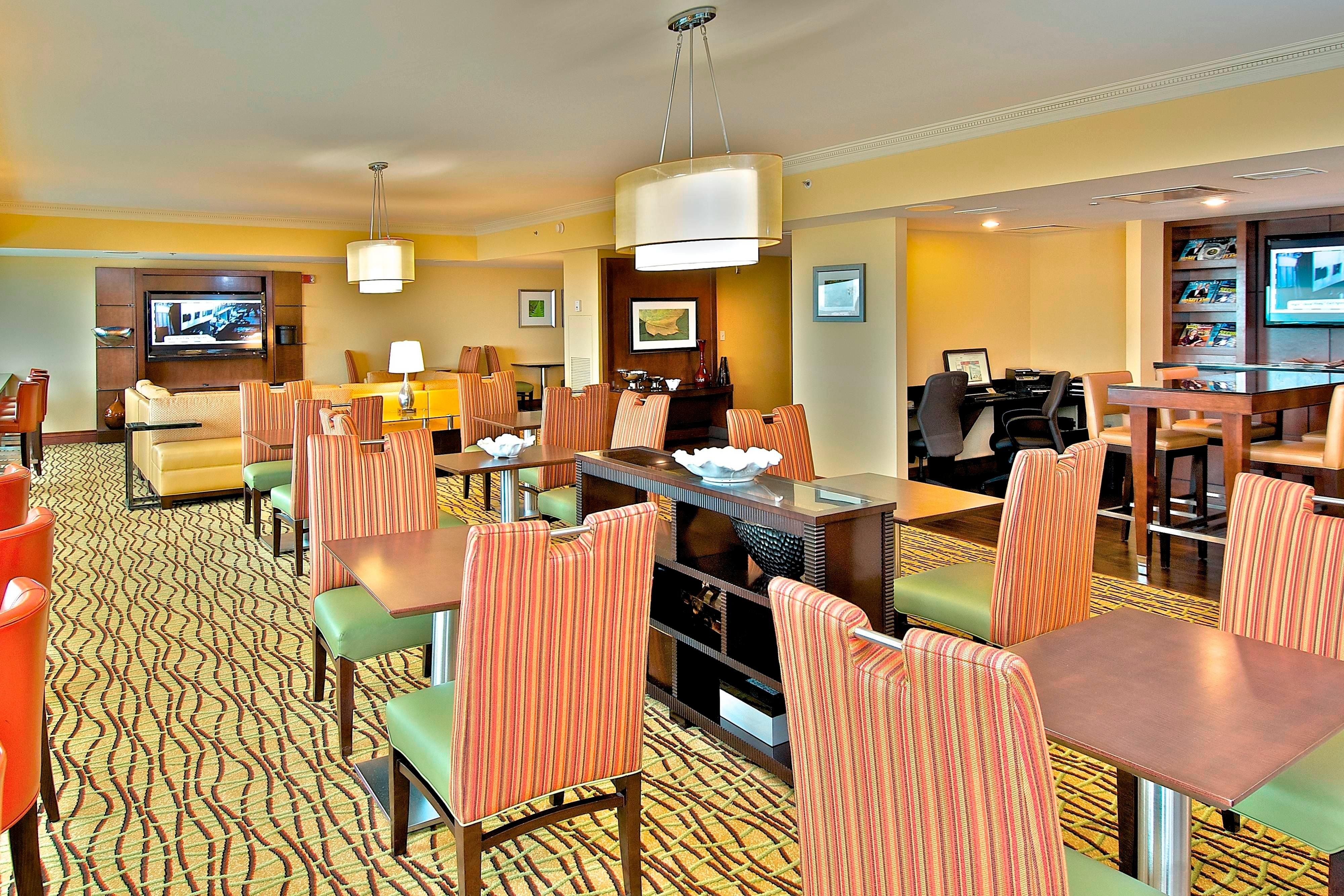 Downtown Anchorage hotel concierge lounge