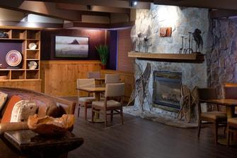 Lounge Fireplace