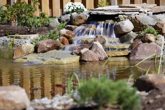 Waterfall at Courtyard Altoona
