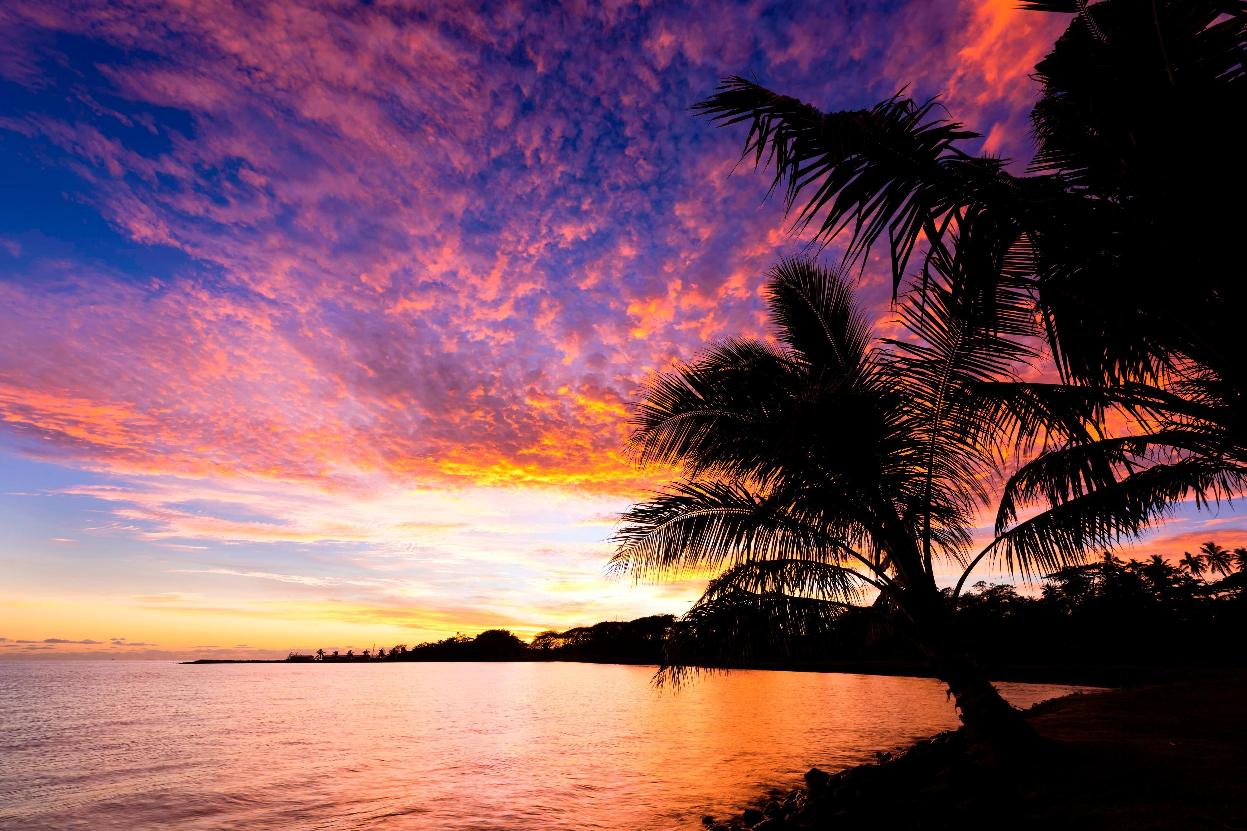 Sheraton Samoa Beach Resort Sunset