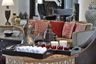 The arrival experience is inviting and the noblest tradition of the Jordanian hospitality.