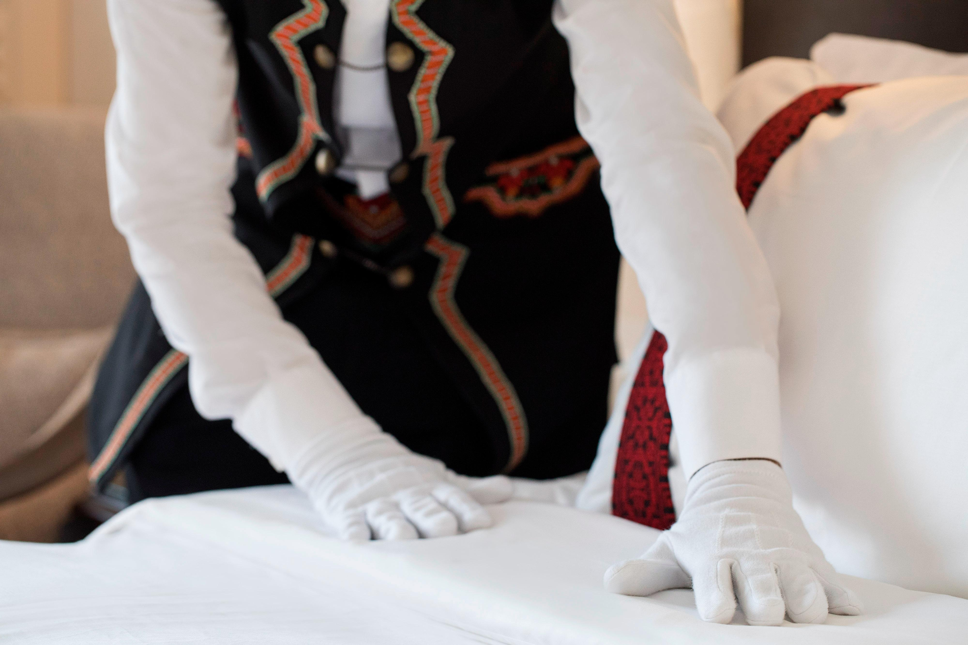 Our 24-hour butler service assists with any special requests from shoe shining to unpacking services.