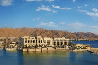 Located just minutes from all major attractions, Aqaba is part of Jordan's golden triangle of tourism next to Wadi Rum and Petra, which is just 120km north of the Red Sea.