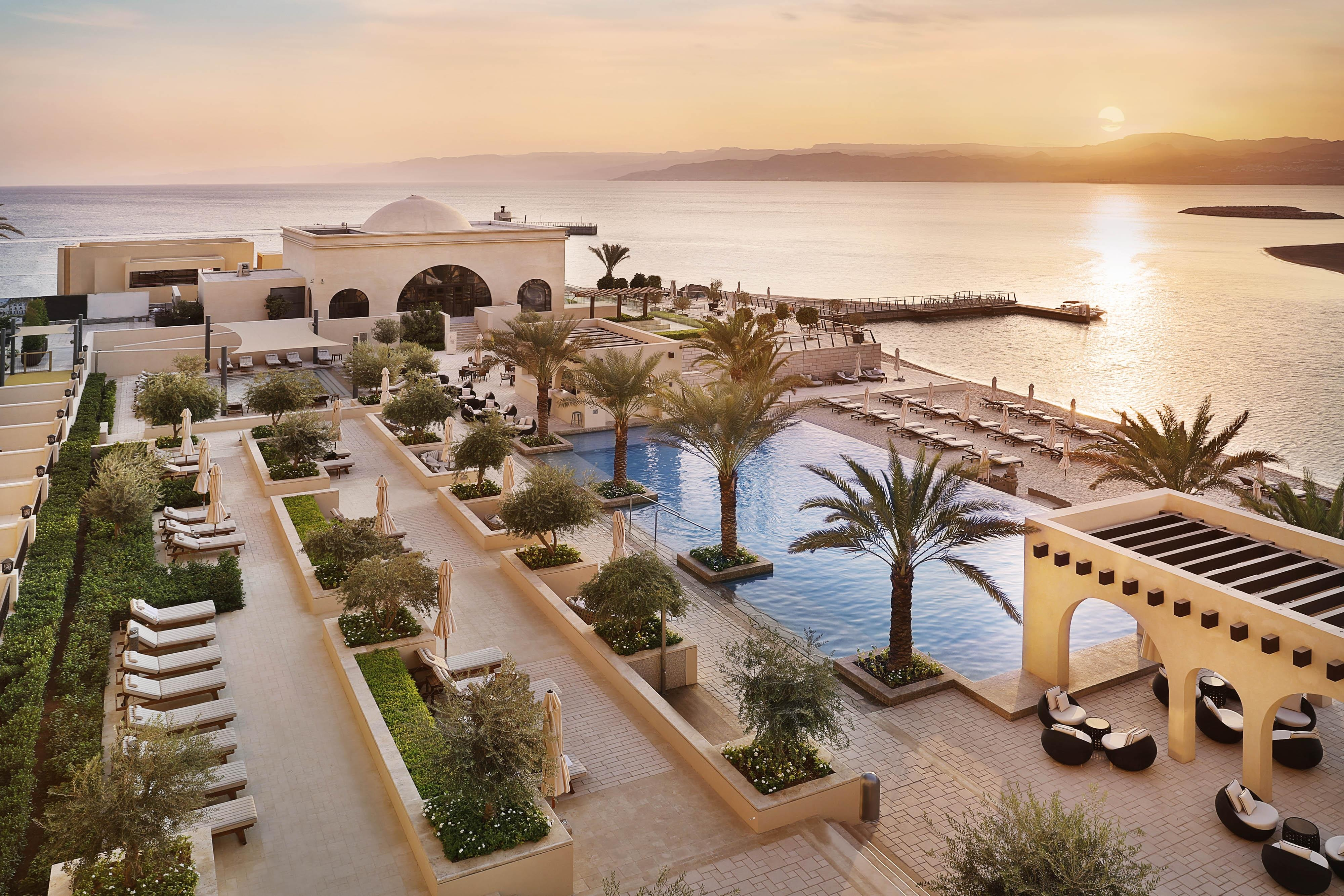 There is no better place to enjoy the Aqaba sunshine than by our pool or beach.
