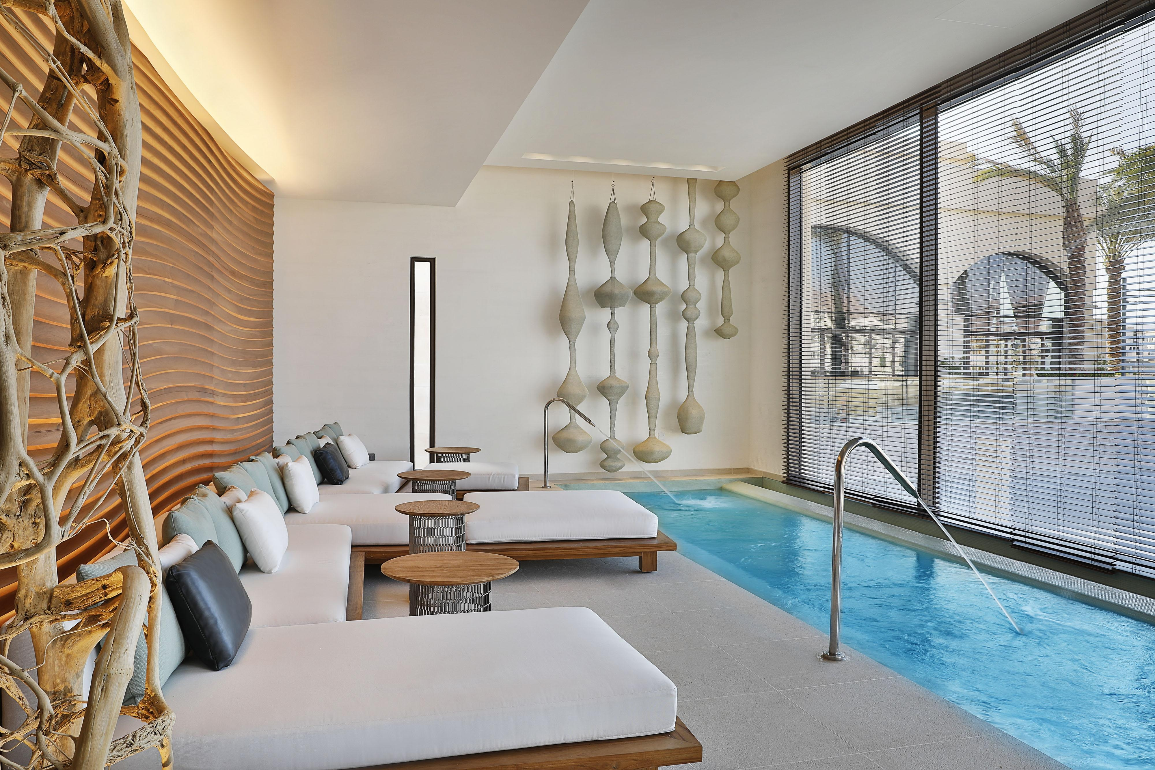 Unwind and make most of your day by enjoying our facilities at the Heavenly Spa, which includes male and female vitality pools, relaxation rooms and stimulating sauna and steam rooms.