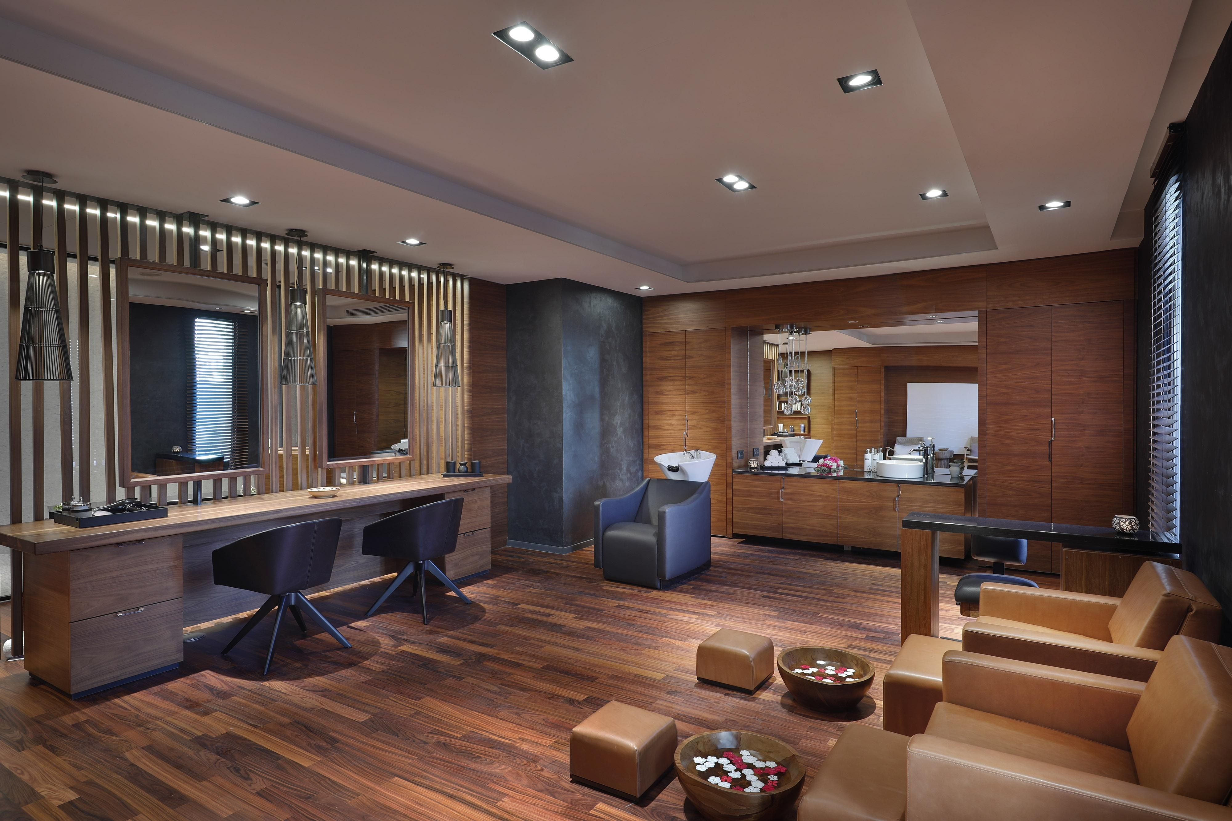 A full service Barber Shop located at our Spa offers men a haven to sit back, relax and experience the art of grooming and services.