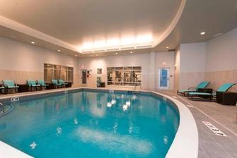 Marriott Residence Inn pool, ann arbor hotel pool, ann arbor extended stay hotel