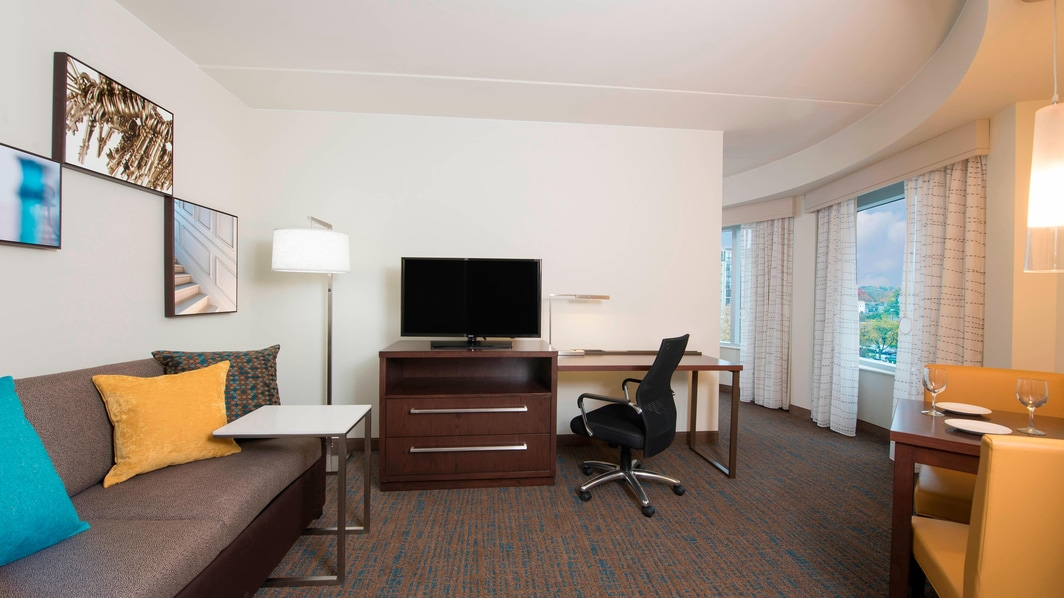 marriott, residence inn, ann arbor hotels, Michigan guest rooms