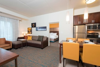 riott Residence Inn suite, Ann Arbor Michigan hotel