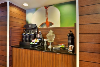 Complimentary 24-Hour Coffee & Tea Service