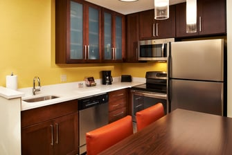 Two-Bedroom Suite Kitchen