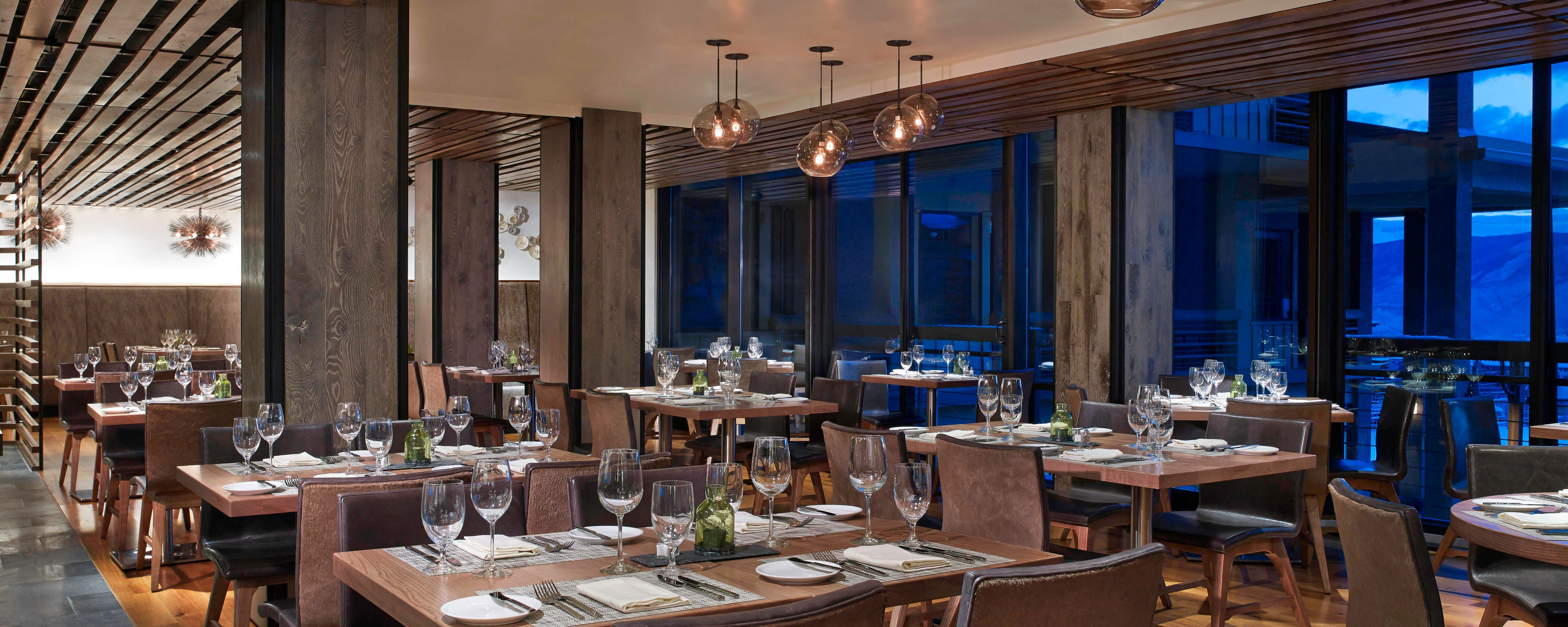 Snowmass Kitchen, comedor