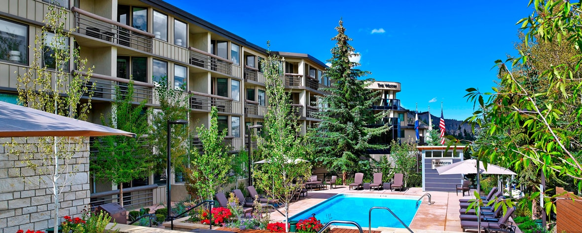 A piscina do Westin Snowmass Resort